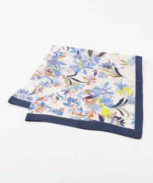 フラワーグラデーション スカーフ