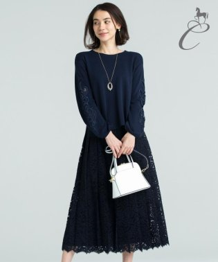 【Class Lounge】PLEATED LACE スカート