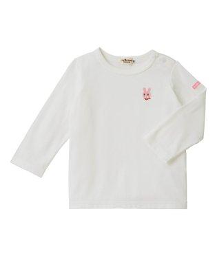 ワンポイントシンプル長袖Tシャツ(70~120cm)