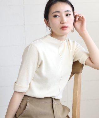 【WEB限定】プチハイネック半袖プルオーバー