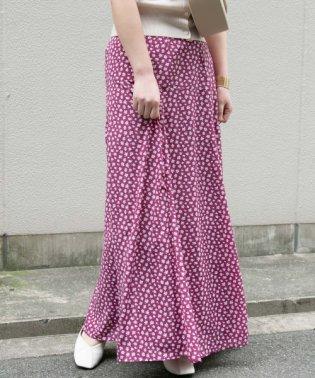 【ROSSO】小花柄ロングスカート