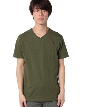 無地半袖VネックTシャツ・カットソー