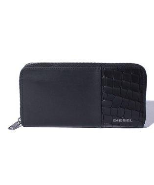 DIESEL X06489 P2392 ラウンドファスナー長財布