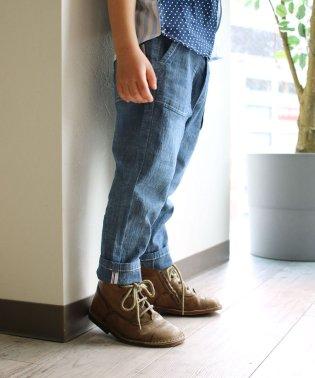 STシャンブレー9分丈パンツ(150~160cm)