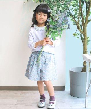小花柄キュロット(100~140cm)