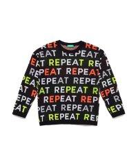 総柄ニット・セーター