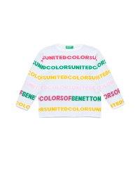 カラーロゴラインニット・セーター