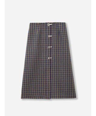 ハトメツイードスカート