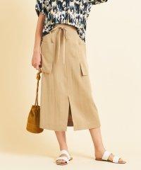 BY∴ ハイウエストリボンタイトスカート