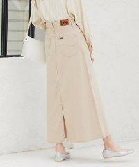 【Lee×ViS】Aラインデニムスカート