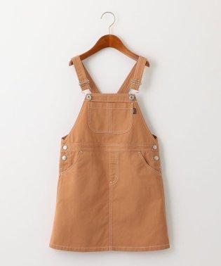 【ジュニア】コットンツイルジャンパースカート