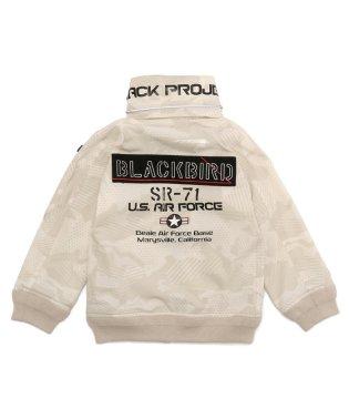 【キッズ】ブラックバード スタンドジップ ジャケット/BLACK BIRD STAND ZIP JACKET/AVIREX/アヴィレックス