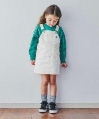 【キッズ】コットンツイルジャンパースカート