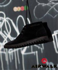 AIR WALK  / エアーウォーク:RIPPLE BOOT-BLACK