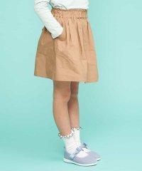 [140-150]【洗える】インナーパンツ付きギャザースカート