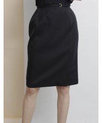 【セットアップ対応商品】パッカブルベルト付きタイトスカート