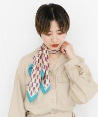 【KBF】レトロ柄スカーフ