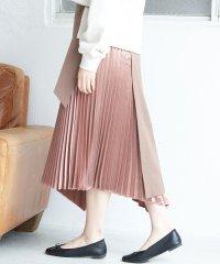 【WEB限定】【2WAY】ラッププリーツスカート