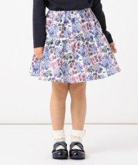【100-130cm】花柄スカート