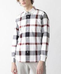 ロイヤルオックスクレストブリッジチェックボタンダウンシャツ