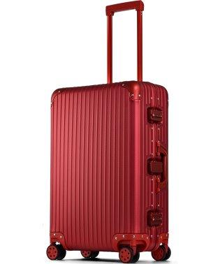 【PROEVO】 スーツケース アルミマグネシウム合金 M 中型 アルミニウムボディ キャリーバッグ キャリーケース 8輪 ストッパー 予備キャスター付属