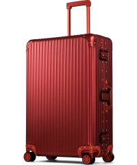 【PROEVO】 スーツケース アルミマグネシウム合金 L 大型 アルミニウムボディ キャリーバッグ キャリーケース 8輪 ストッパー 予備キャスター付属