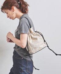 <JAMIRAY(ジャミレイ)>LTH/LIN ドローストリング バッグ