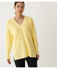 BACK SWELL V KNIT