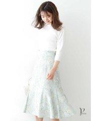 ◆フローラボタニカルマーメイドスカート