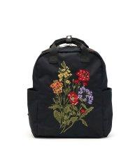 glanta リュック グレンタ クラシカルブーケ刺しゅう スクエアリュック ナチュラル デイパック 花柄 A4 04070101