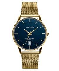 ARMITRON 腕時計 アナログ メッシュ ブレスレットウォッチ