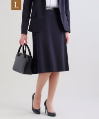 【L】【セットアップ対応】【美Skirt】トリアセルクスセミフレアースカート