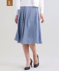 【L】【ウォッシャブル】ドングリングサテンスカート