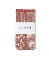 Ray BEAMS / リバーシブル メッシュヤーン ソックス