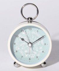 フラワーアラーム付き置き時計S