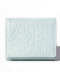 タイポ型押しミニ財布