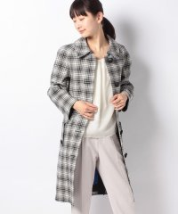 【BURBERRY】Woman's Checked Collared Coat