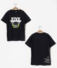 エスエーギア/キッズ/BOY半袖グラフィックTEE FIVE