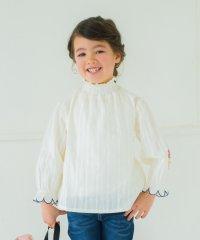 袖刺繍チュニック(90~150cm)