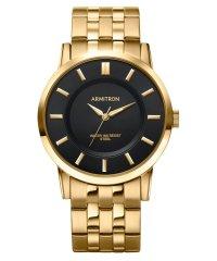 ARMITRON 腕時計 アナログウォッチ ブラックダイヤル