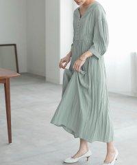【WEB限定】バルーンスリーブギャザードレス