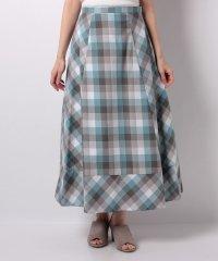 【ROSSO】カラーブロックマキシスカート