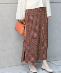 【ROSSO】ランダムドットスカート
