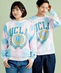 SU: 《一部WEB限定カラー》UCLA 100YEARS by SHIPS ビッグシルエット クルーネック スウェット (トレーナー)