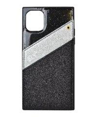 74480-1 iPhone 11 SLY [ラメマグネット/ブラック]