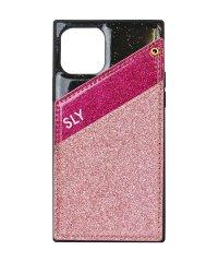 74481-2 iPhone 11 Pro SLY [ラメマグネット/ピンク]