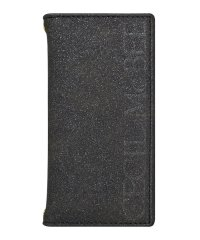 74361-1 iPhone 11 Pro[ラメスエード/BLACK]手帳ケース