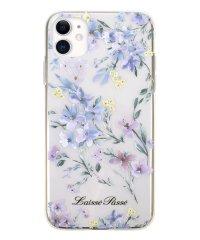 74464-2 iPhone 11 LAISSE PASSE [背面ケース/ TPUクリアケース/ BLUE]