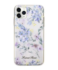 74465-2 iPhone 11 Pro LAISSE PASSE [背面ケース/ TPUクリアケース/ BLUE]