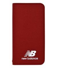 md-74261-3 iPhoneXS/X New Balance [シンプル手帳ケース/レッド]